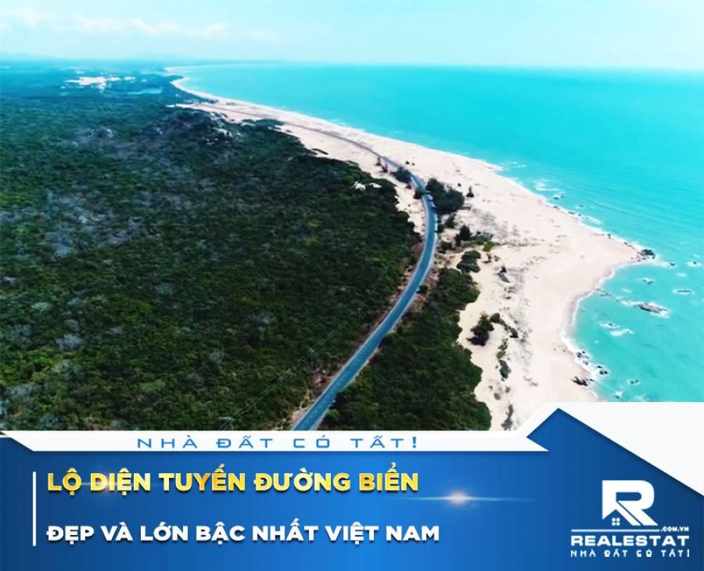 Lộ diện tuyến đường biển đẹp và lớn bậc nhất Việt Nam