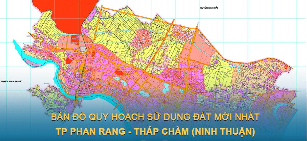 Bản đồ quy hoạch sử dụng đất Thành phố Phan Rang – Tháp Chàm (Ninh Thuận) giai đoạn năm 2021 – 2030