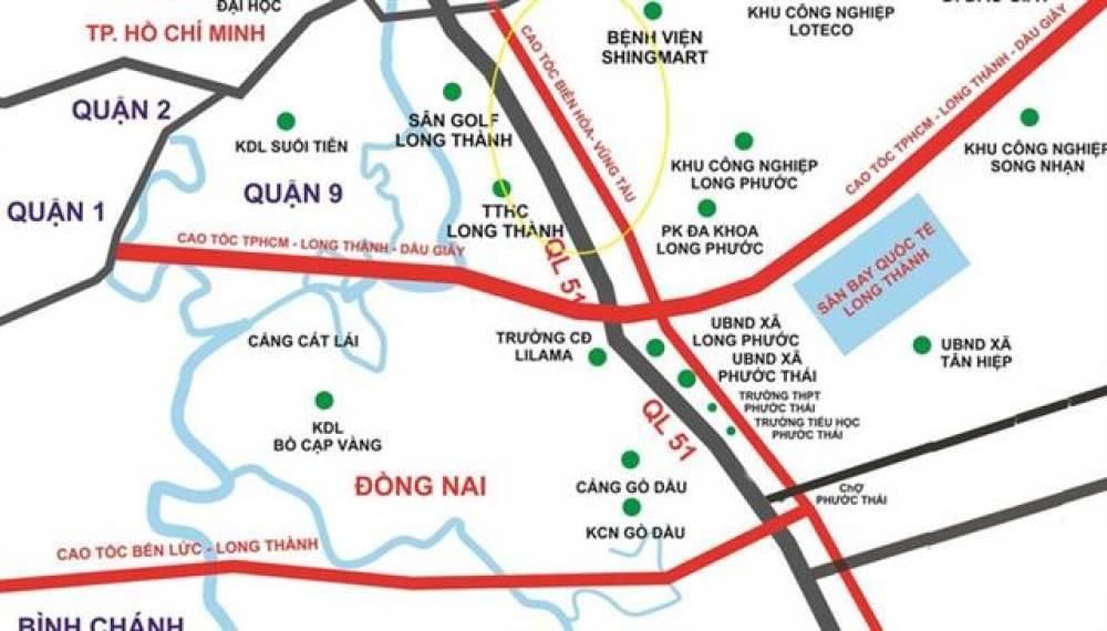 Lấy gần 600 ha đất để làm cao tốc Biên Hòa - Vũng Tàu