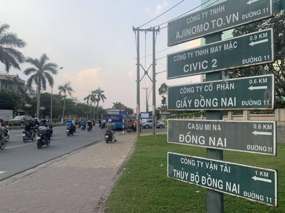 KCN Biên Hoà 1 được đưa ra khỏi quy hoạch để trở thành khu đô thị