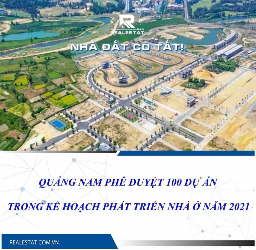 Quảng Nam phê duyệt 100 dự án trong Kế hoạch phát triển nhà ở năm 2021