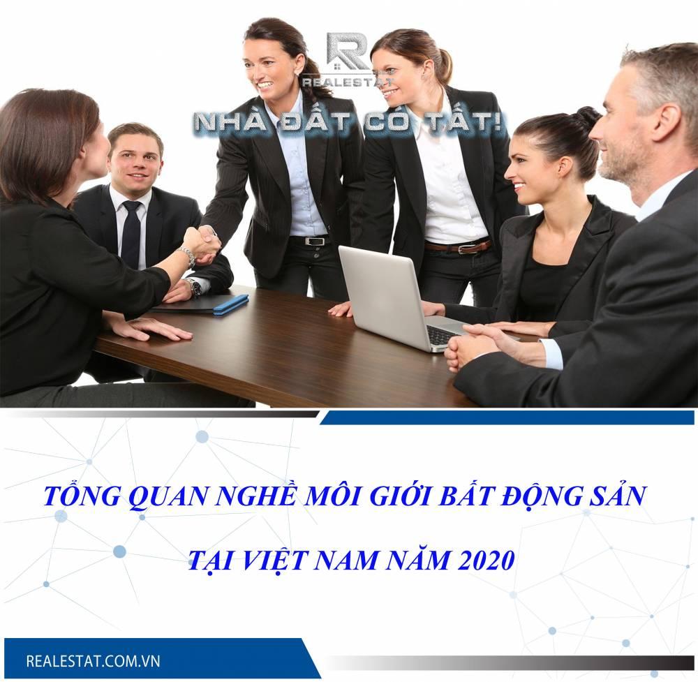 Tổng quan nghề môi giới bất động sản tại Việt Nam năm 2020
