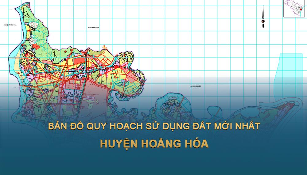 Bản đồ quy hoạch sử dụng đất huyện Hoằng Hóa 2030