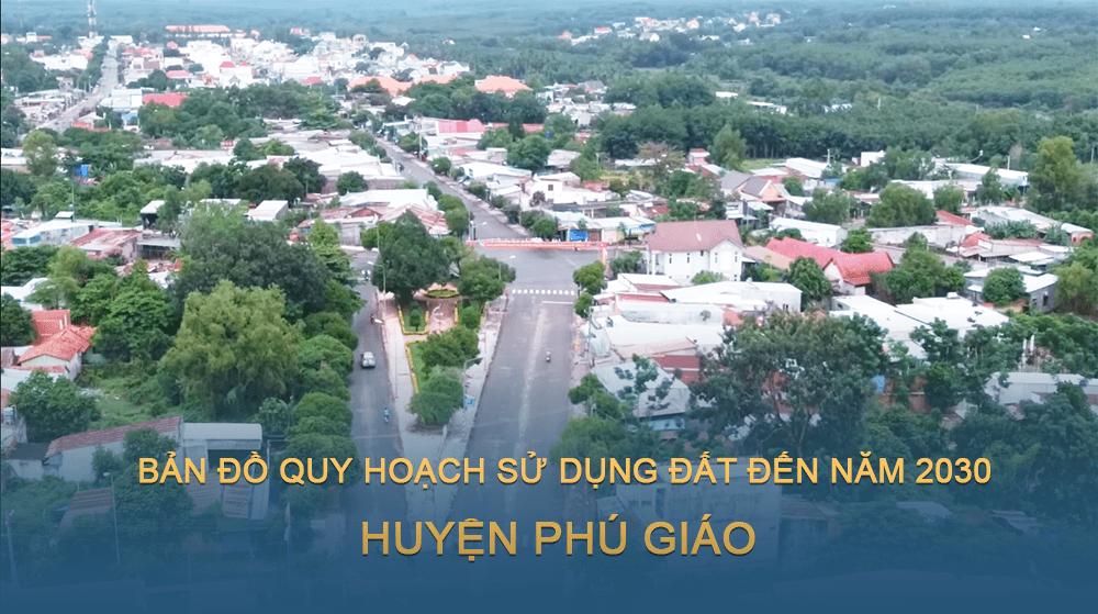 Bản đồ quy hoạch sử dụng đất huyện Phú Giáo đến năm 2030