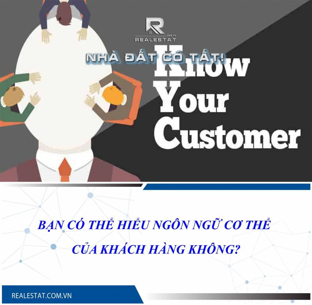 Bạn có thể hiểu ngôn ngữ cơ thể của khách hàng không?