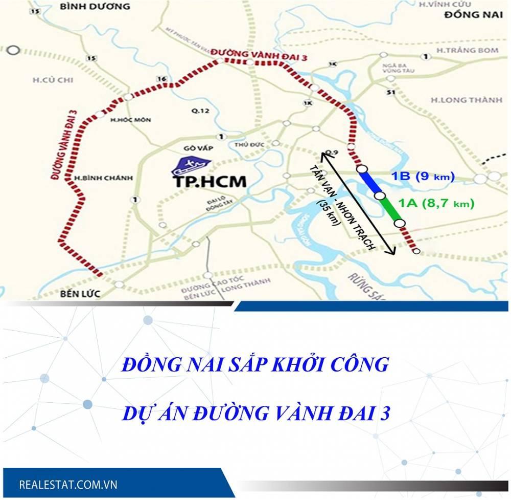 Đồng Nai sắp khởi công dự án đường Vành đai 3