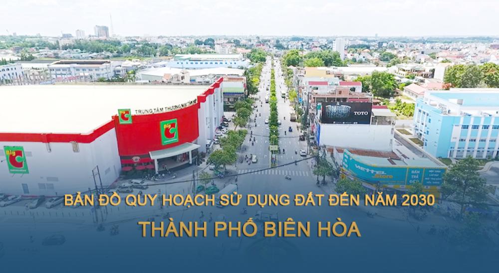 Bản đồ quy hoạch sử dụng đất TP Biên Hòa 2030
