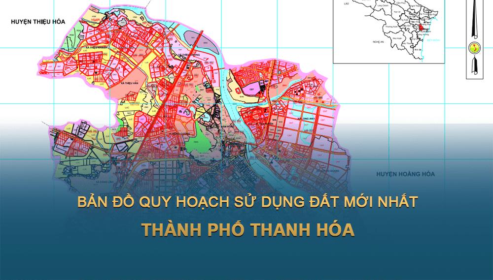 Bản đồ quy hoạch sử dụng đất Thành phố Thanh Hóa 2030