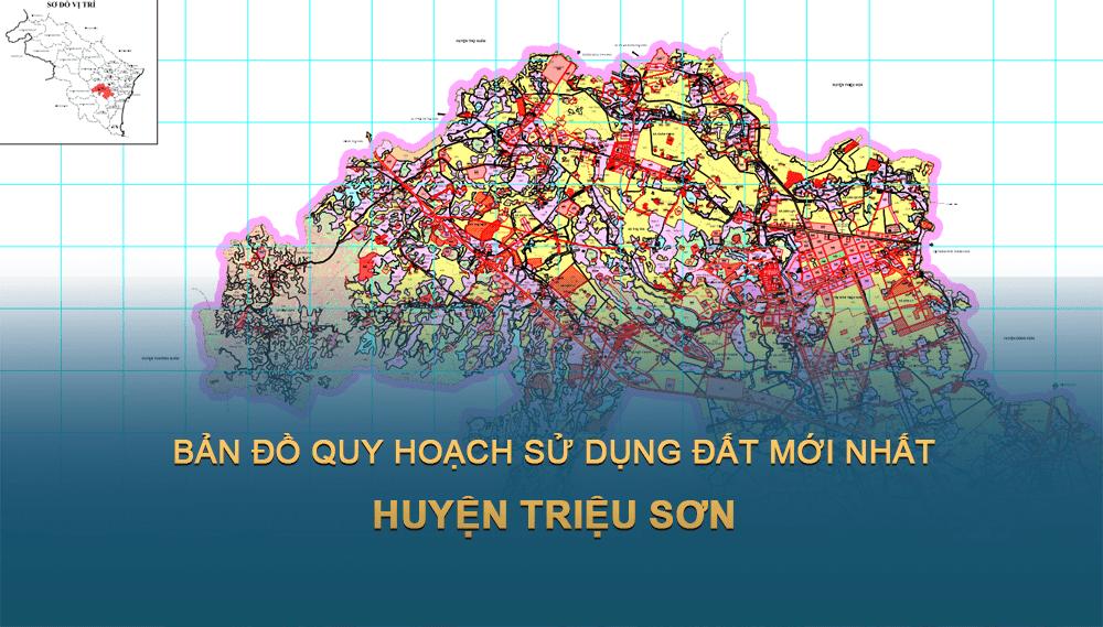 Bản đồ quy hoạch sử dụng đất huyện Triệu Sơn 2030