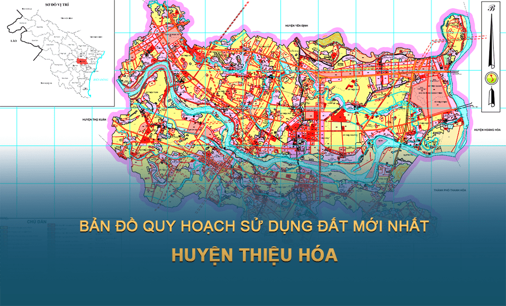 Bản đồ quy hoạch huyện Thiệu Hóa (Thanh Hóa) 2030