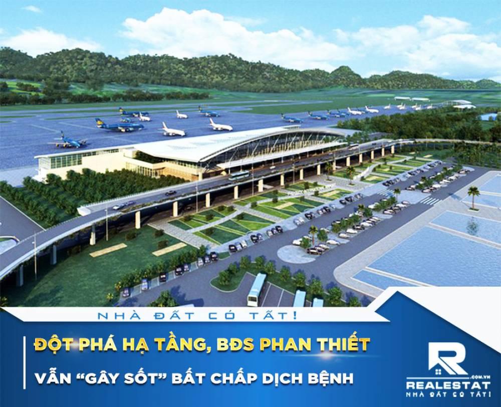 """Đột phá hạ tầng, BĐS Phan Thiết vẫn """"gây sốt"""" bất chấp dịch bệnh"""