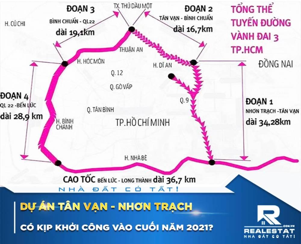 Dự án Tân Vạn - Nhơn Trạch có kịp khởi công vào cuối năm 2021?