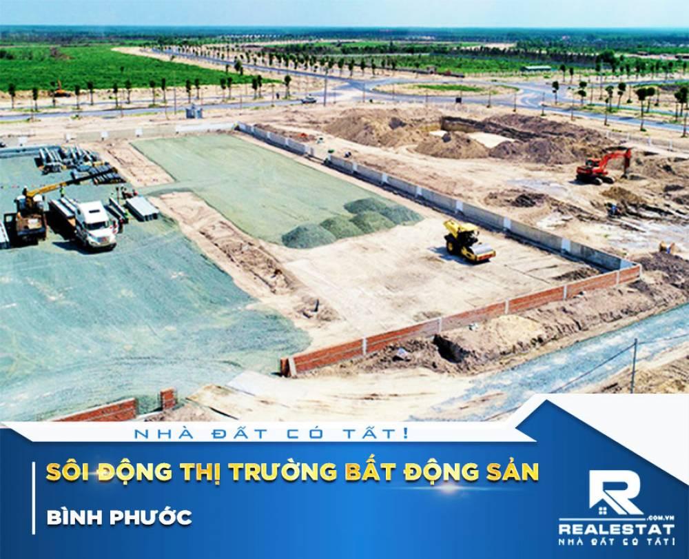 Sôi động thị trường bất động sản Bình Phước