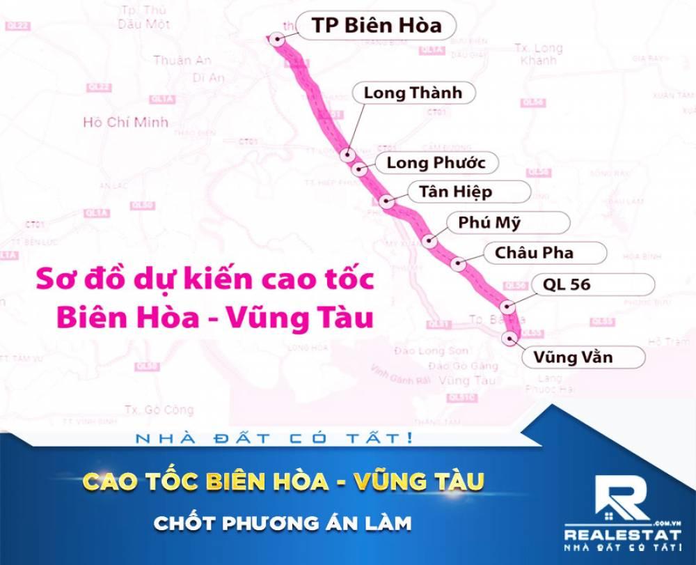 Chốt phương án làm cao tốc Biên Hòa - Vũng Tàu