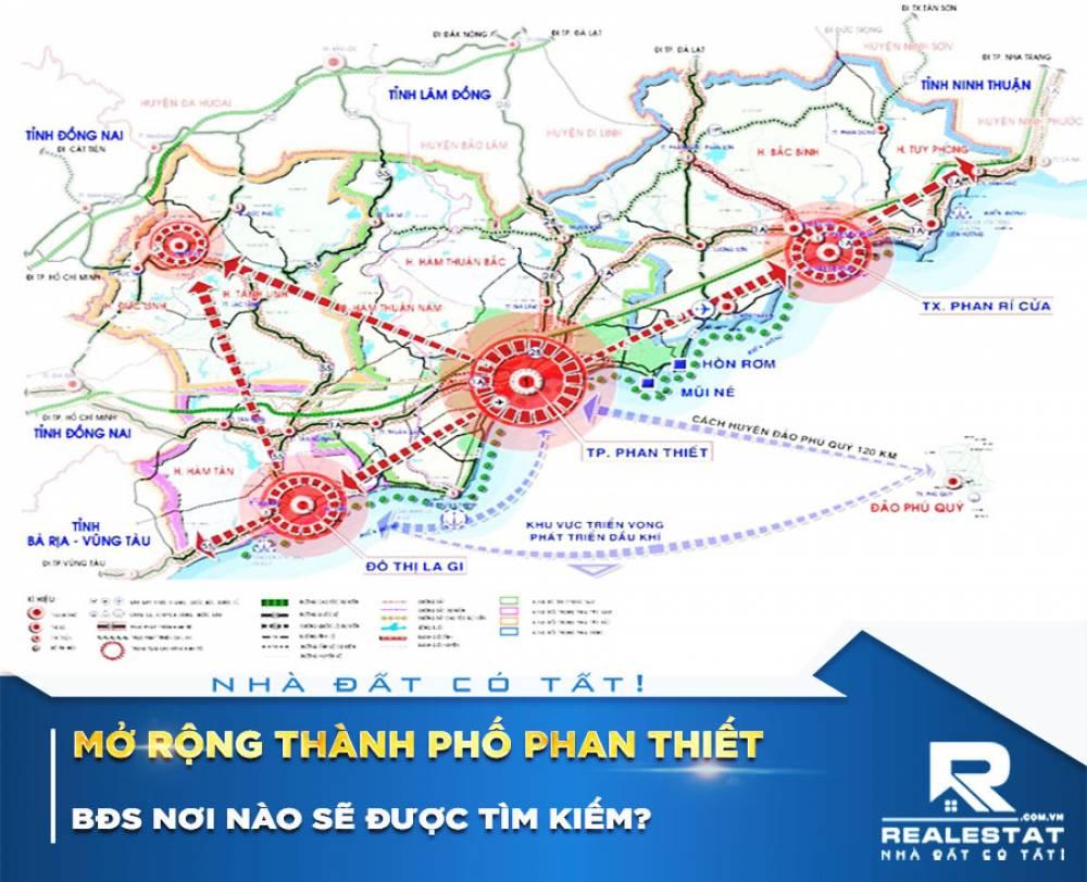 Mở rộng thành phố Phan Thiết, BĐS nơi nào sẽ được tìm kiếm?